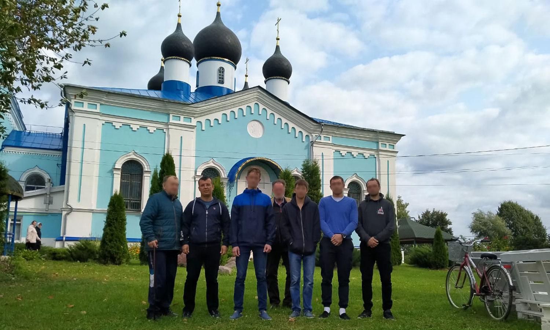 13 сентября 2020 года воспитанники центра побывали на Литургии в Покровском храме с. Карпово.