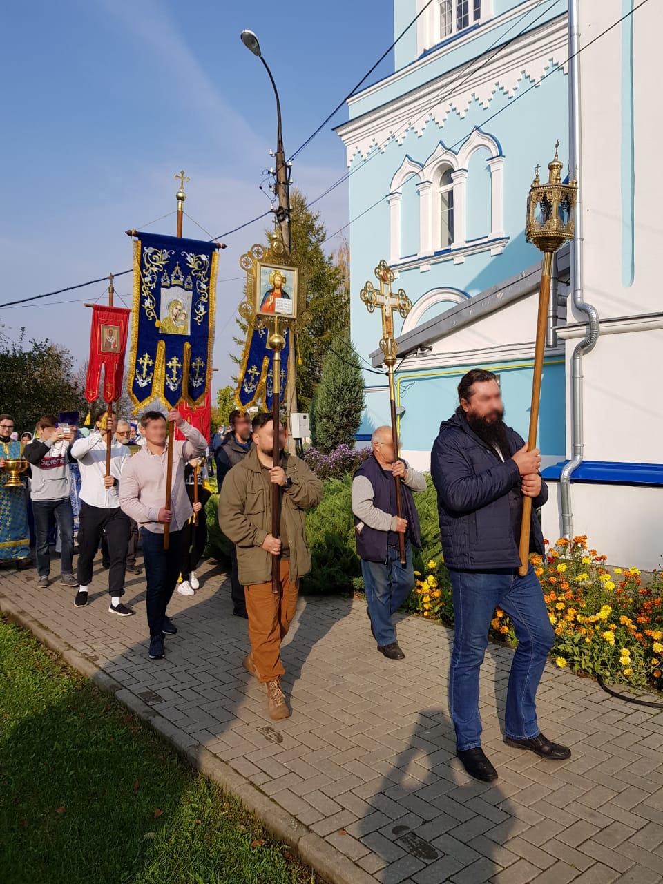 Престольный праздник в с. Карпово