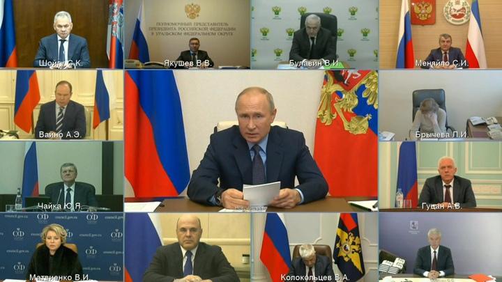 Владимир Путин призвал жестко противостоять наркоугрозе