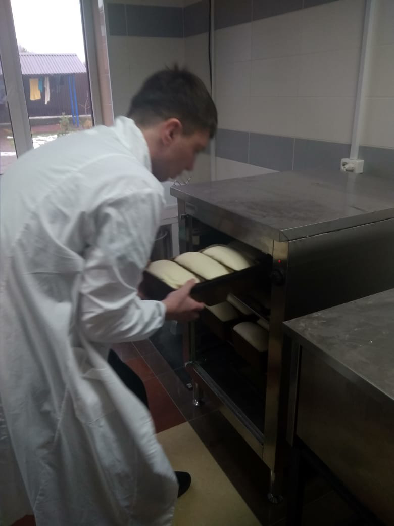 Быть трезвым, печь хлеб